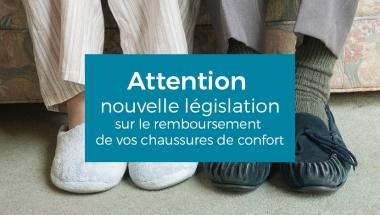 Modification de prise en charge des Chaussures à usage temporaire
